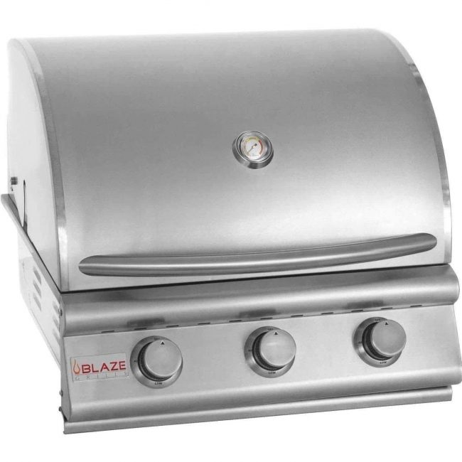 Blaze 25-Inch 3 Burner Built-In Gas Grill
