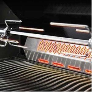 Napoleon Grills Prestige 500 Built-In Gas Grill, Rear Infrared Burner