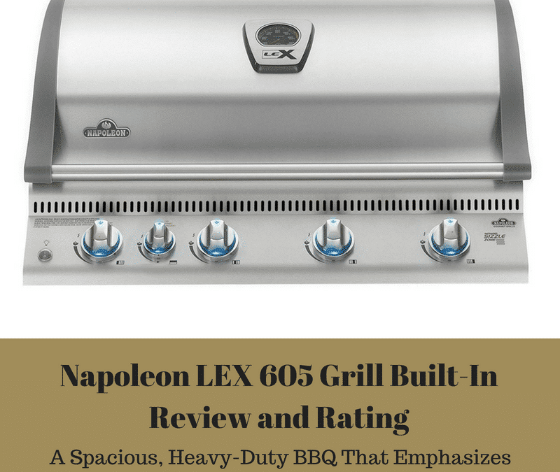 Napoleon LEX 605 Grill Built-In Review and Rating – A Spacious, Heavy-Duty BBQ That Emphasizes Quality and Longevity