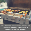 TEC PATIO FR Grill 44-INCH BUILT-IN INFRARED GAS GRILL Review And Rating