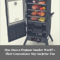 How Does a Propane Smoker Work