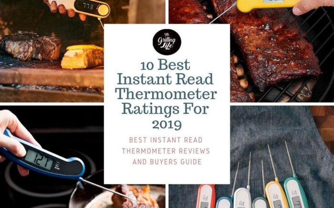Top 10 Best Instant Read Thermometer Ratings For 2019 – Instant Read Thermometer Reviews And Buyers Guide