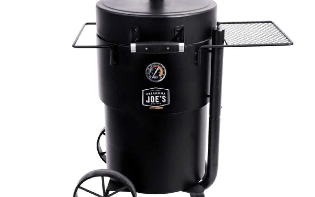 Best Overall Charcoal Smoker – Bronco Drum Smoker