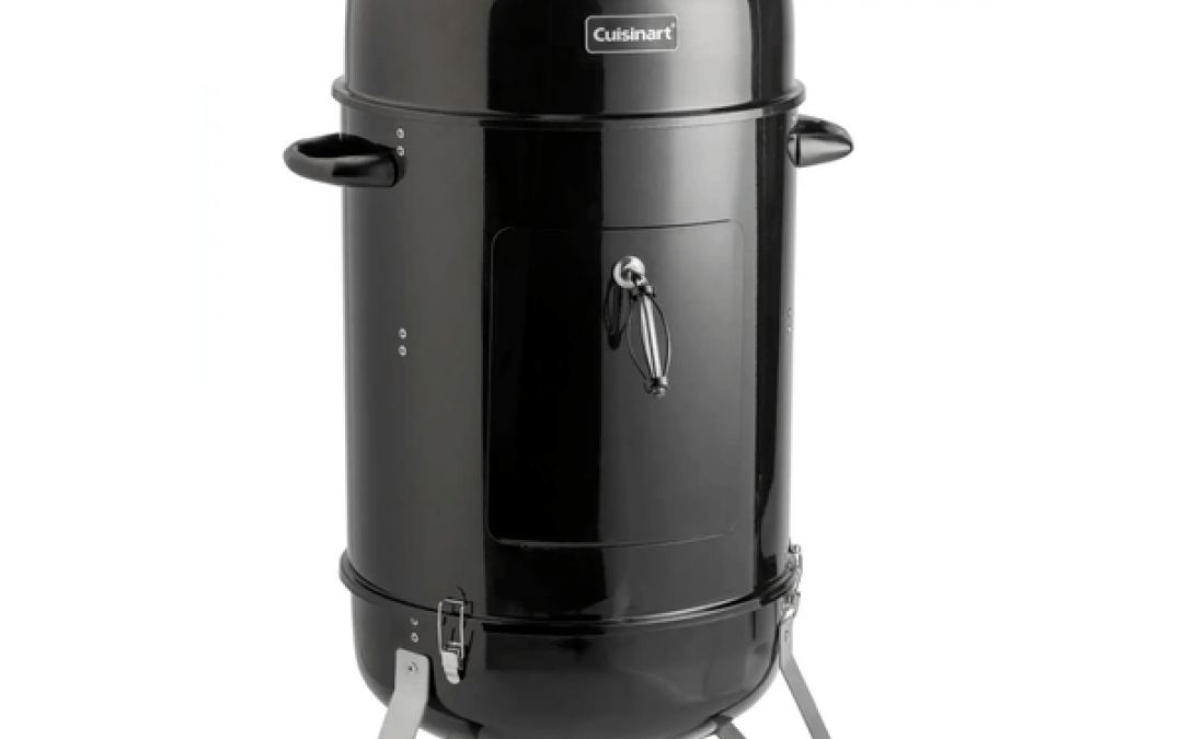 Best Entry-Level Charcoal Smoker – Cuisinart Vertical Smoker