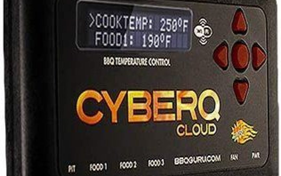 Best Mid-Range BBQ Temperature Controller – CyberQ Cloud