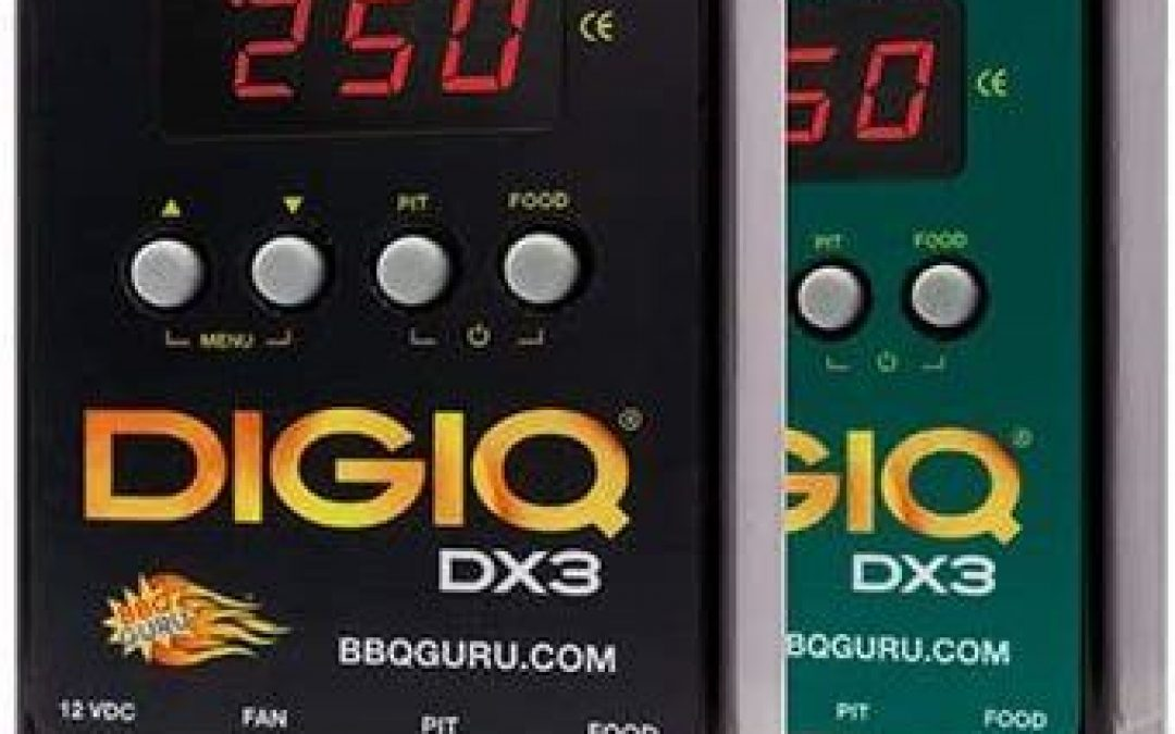 Best Entry-Level BBQ Temperature Controller – DigiQ DX3