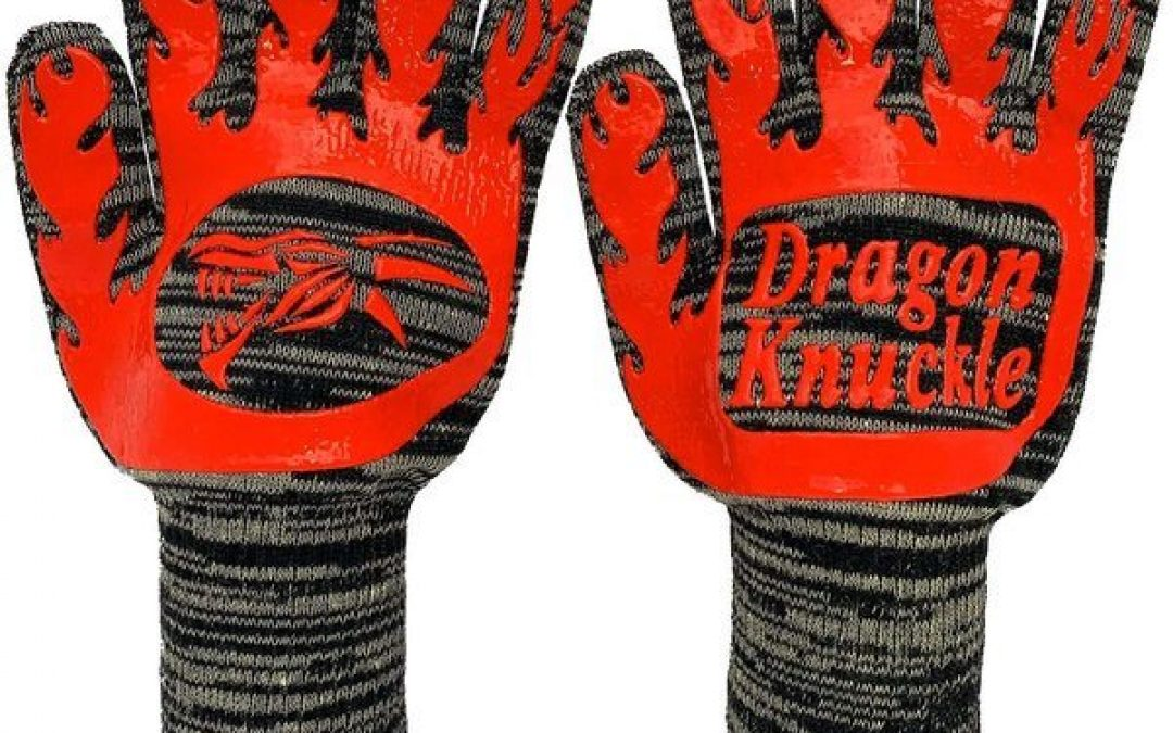 Best Overall Grilling Gloves – Dragon Knuckle