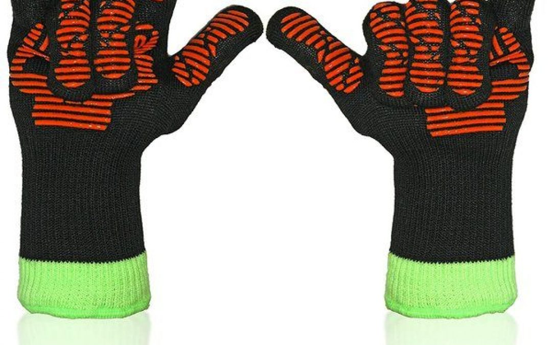 Best Mid-Range Grilling Gloves – Kitchenux Brand Inferno