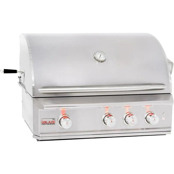 Best Built In Gas Grills - Blaze BLZ-3PRO-NG Professional 34-Inch