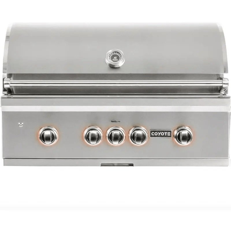 Best Built In Gas Grills - Coyote S-Series 36-Inch 4-Burner Built-In Gas Grill