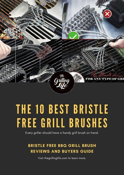Best Bristle Free Grill Brushes - The Grilling Life
