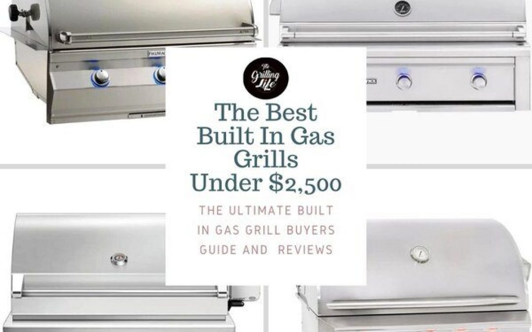 The 10 Best Built In Gas Grills Under $2,500 For 2021 – Built In Gas Grill Insert Reviews And Buyers Guide