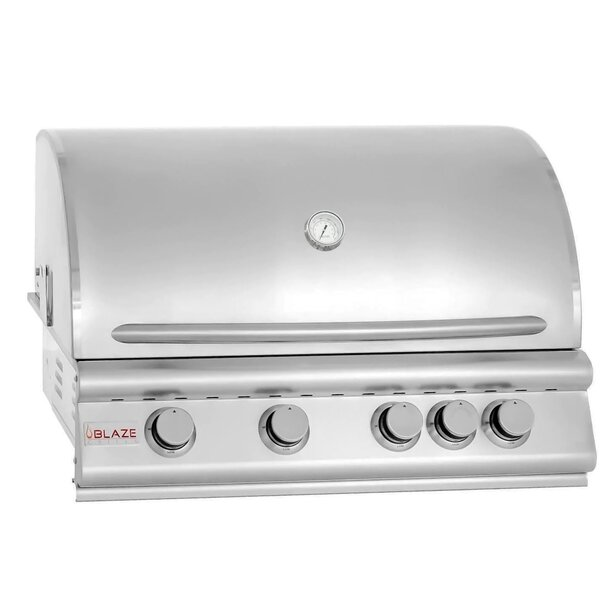 Blaze 32-Inch 4-Burner Built-In Gas Grill - Best Built In Gas Grills Under $2,500