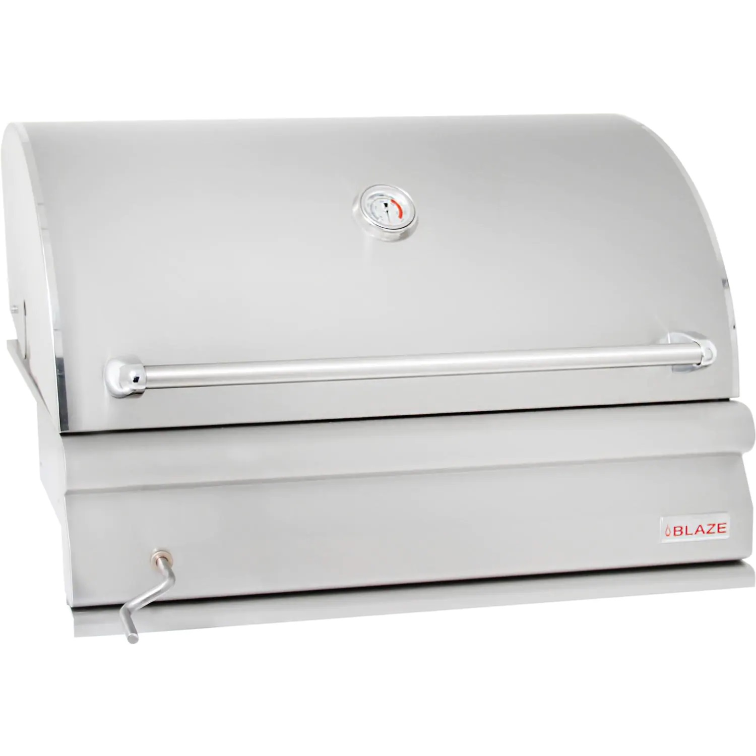 Blaze 32-Inch Built-In Stainless Steel Charcoal Grill - Best Built In Charcoal Grills