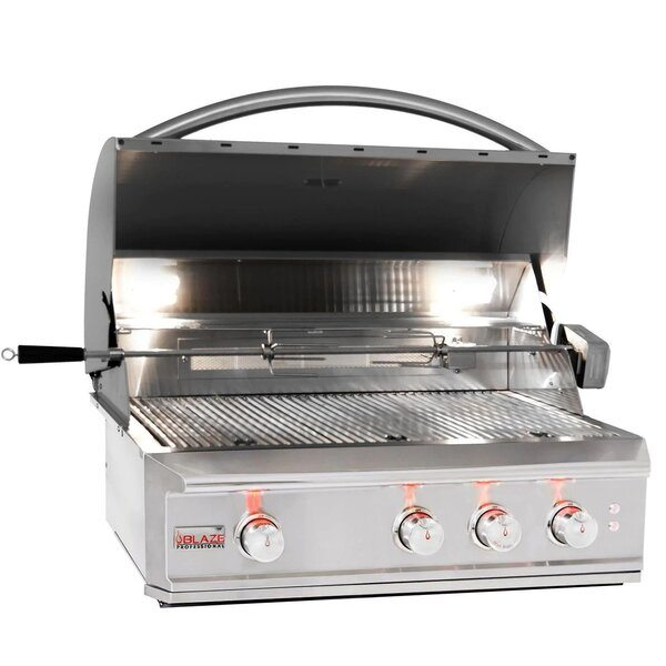 Blaze Professional 34-Inch Built-In Gas Grill - Best Built In Gas Grills Under $3,500