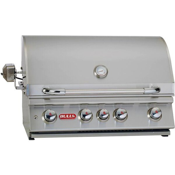 Bull Angus 30-Inch 4-Burner Built-In Gas Grill - Best Built In Gas Grills Under $2,500