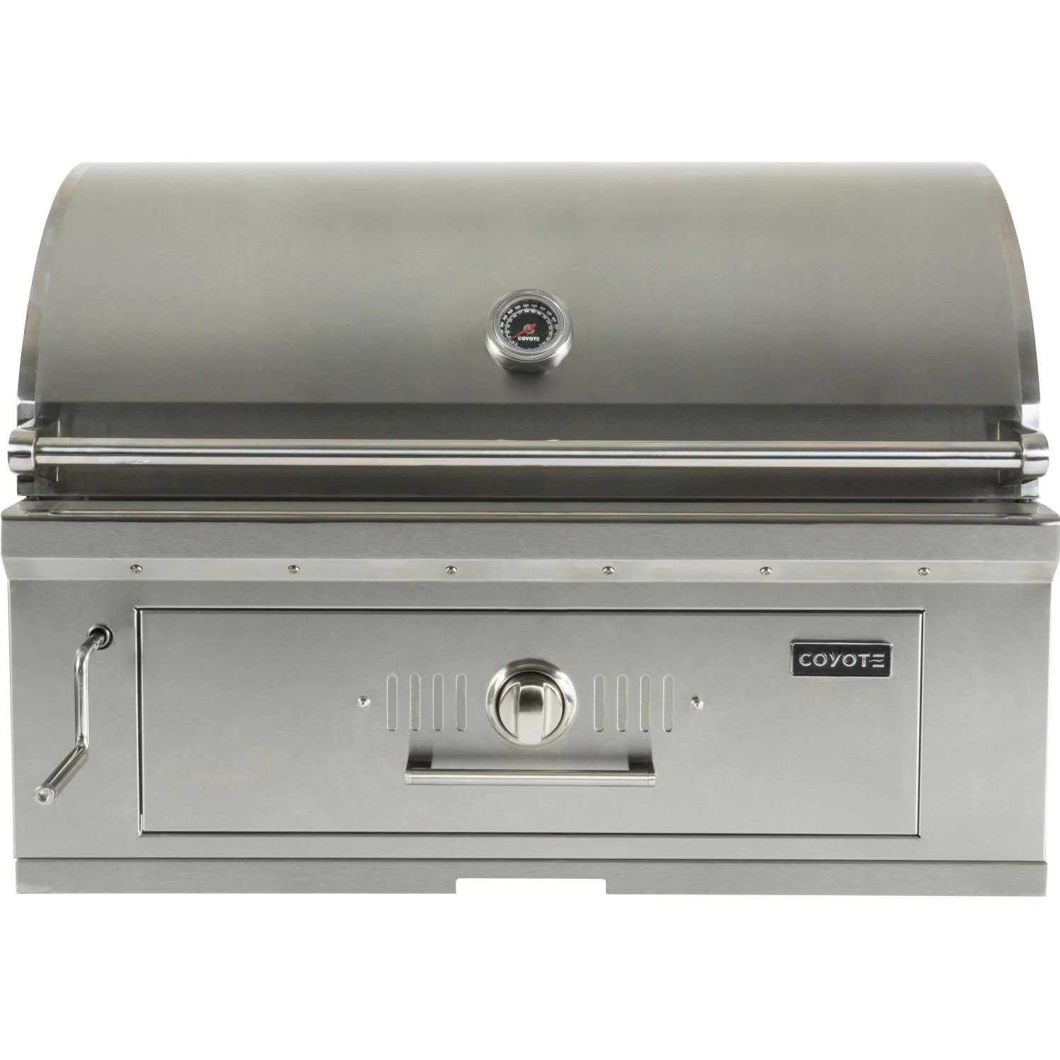Coyote 36-Inch Built-In Stainless Steel Charcoal Grill - Best Built In Charcoal Grills