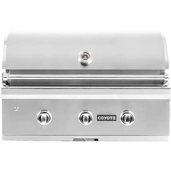 Coyote C-Series 34-Inch 3-Burner Built-In Gas Grill - Best Built In Gas Grills Under $2,500