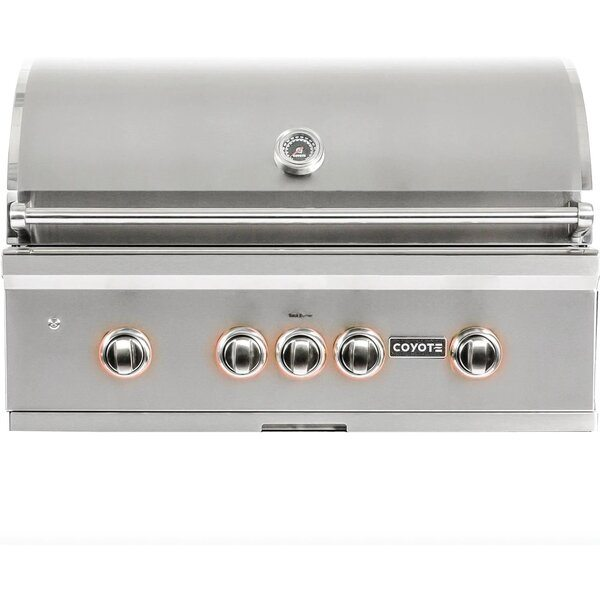 Coyote S-Series 36-Inch Built-In Gas Grill - Best Built In Gas Grills Under $3,500