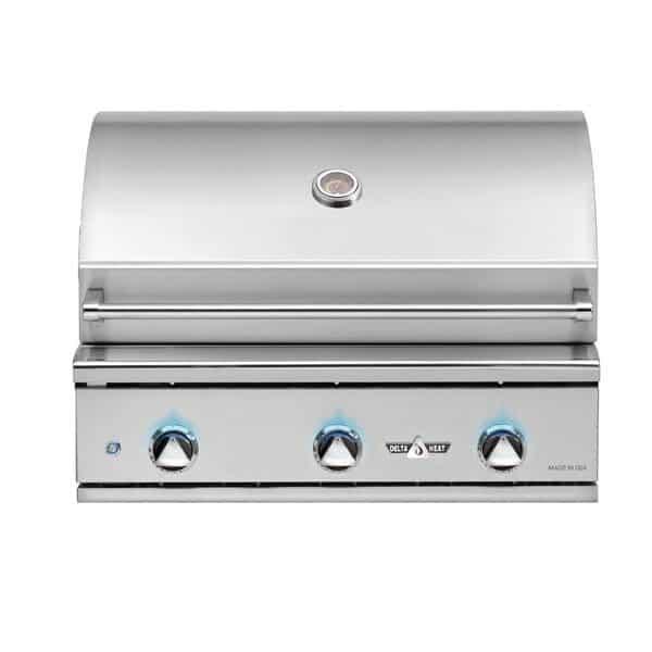 Delta Heat 32-Inch 3-Burner Built-In Gas Grill - Best Built In Gas Grills Under $2,500