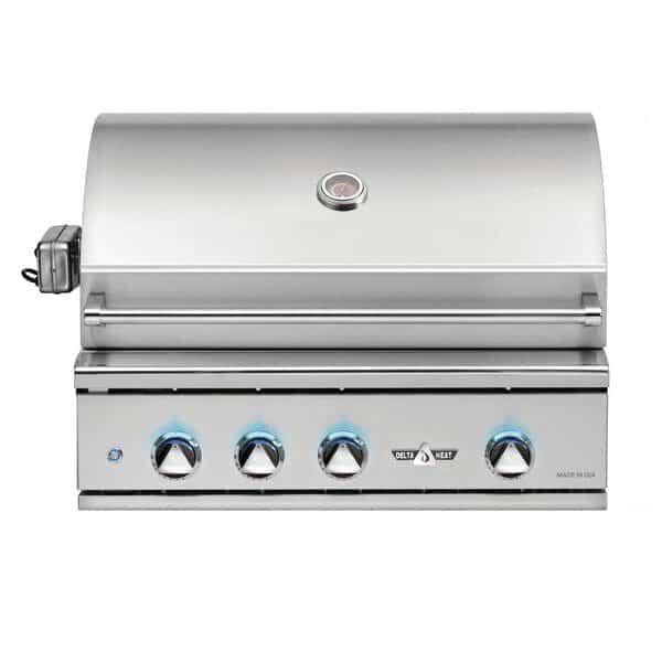 Delta Heat 32-Inch 3-Burner Built-In Gas Grill - Best Built In Gas Grills Under $3,500