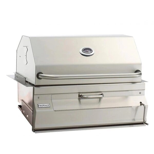 Fire Magic Legacy 30-Inch Built-In Smoker Charcoal Grill - Best Built In Charcoal Grills