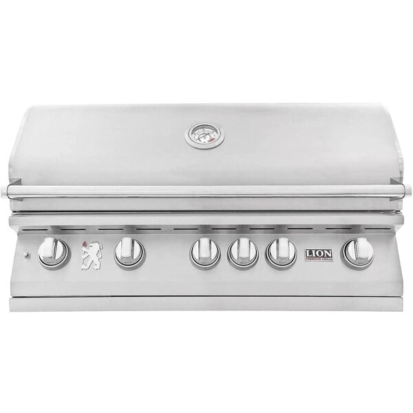 Lion L90000 40-Inch Stainless Steel Built-In Gas Grill - Best Built In Gas Grills Under $2,500