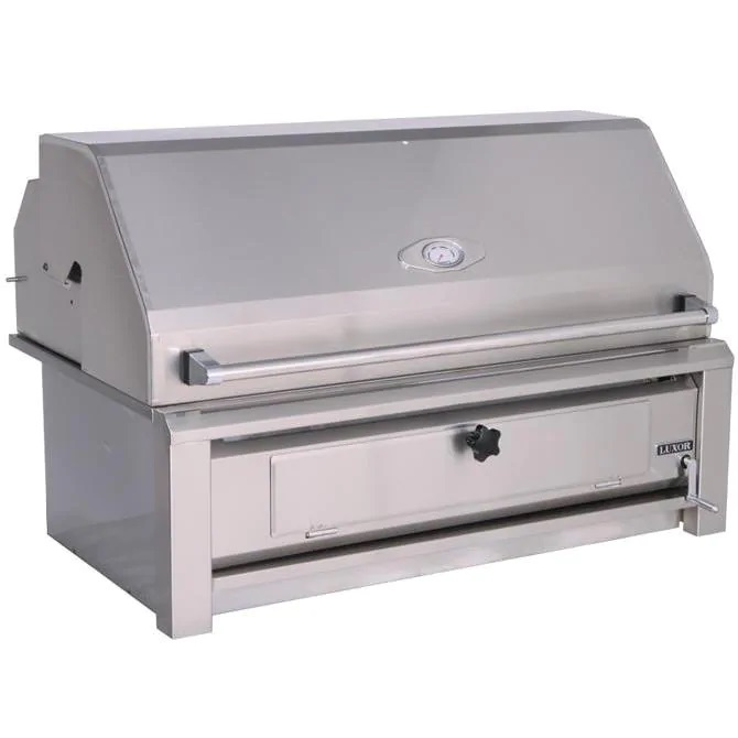 Luxor 42-Inch Built-In Charcoal Grill - Best Built In Charcoal Grills