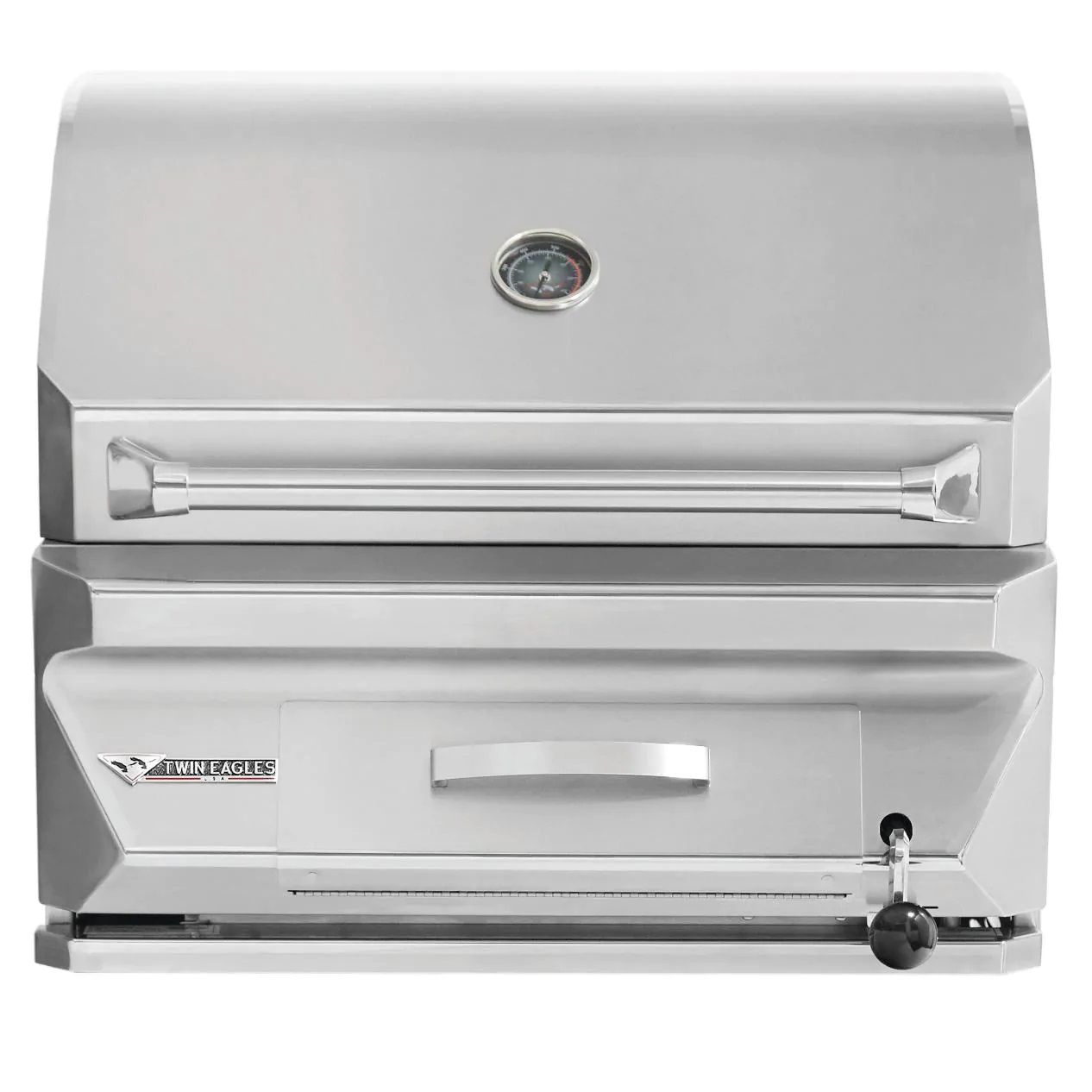 Twin Eagles 30-Inch Built-In Stainless Steel Charcoal Grill - Best Built In Charcoal Grills