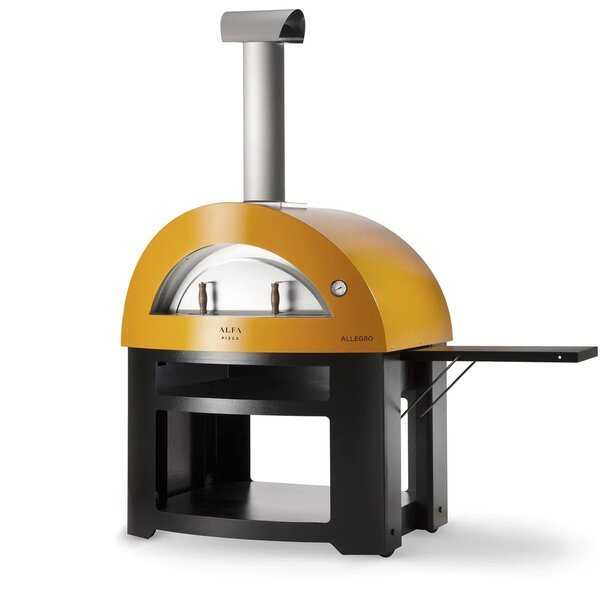 Alfa Allegro 39-Inch Outdoor Wood-Fired Pizza Oven - Best Wood Fired Outdoor Pizza Ovens
