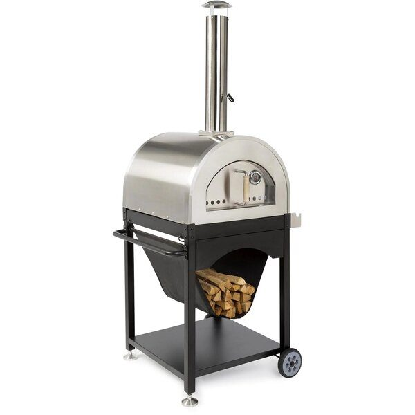 WPPO Pro 4 25-Inch Outdoor Wood-Fired Pizza Oven - Best Wood Fired Outdoor Pizza Ovens