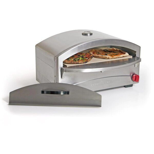 Camp Chef Italia Artisan Portable Propane Outdoor Pizza Oven - Best Outdoor Gas Pizza Ovens -