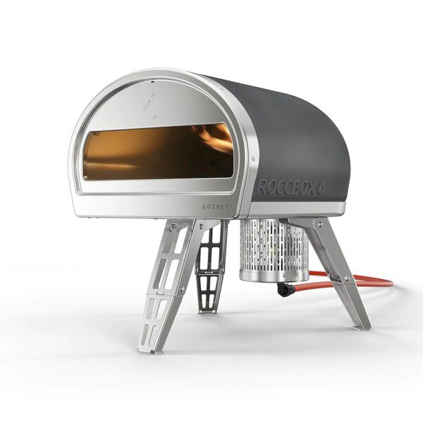 Roccbox Portable Pizza Oven With Gas & Wood Burners - Best Outdoor Gas Pizza Ovens