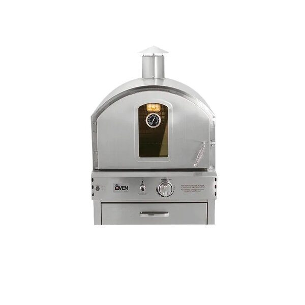 Summerset Natural Gas Outdoor Pizza Oven - Best Outdoor Gas Pizza Ovens