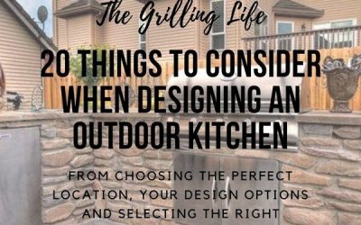 20 Things To Consider When Designing An Outdoor Kitchen