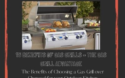 15 Benefits Of Gas Grills – The Gas Grill Advantage