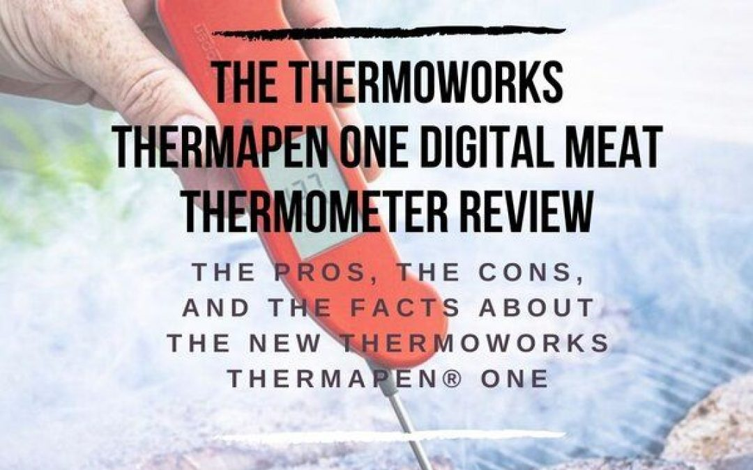 The ThermoWorks Thermapen ONE Digital Meat Thermometer Review And Rating