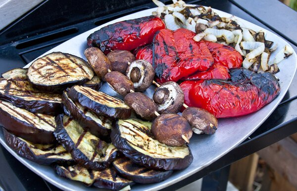 Are Pellet Grills Healthy, Fire Grilled Veggies